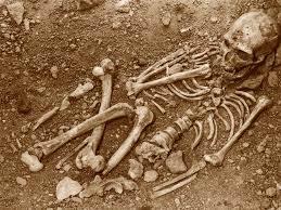 paleolithic grave